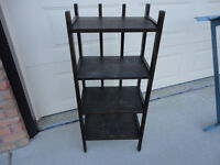 Antique Mission Style Solid Wood Bookcase/Display