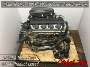 JDM 2001-2005 Honda Civic 1.5L SOHC Vtec Engine JDM D15B EX LX D