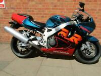 1998 HONDA CBR900 RR FIREBLADE OUTSTANDING EXAMPLE LOW MILES AND SERVICE HISTORY