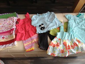 Baby Girl lot size 3/6 and a few 6m.