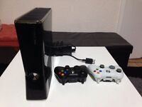 Cheap Xbox 360 Bundle! include console, two controllers with rechargeable batteries & lots of games!
