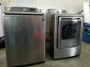 Samsung Washer and Dryer 2013