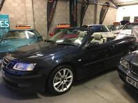 Saab 9-3 AERO 2.8 V6 Fast Automatic Convertible 2005 (55) Private Number Plate