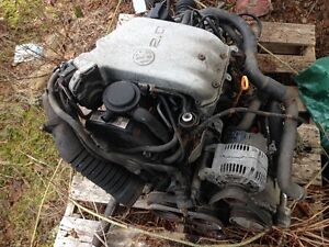 VW JETTA ENGINE