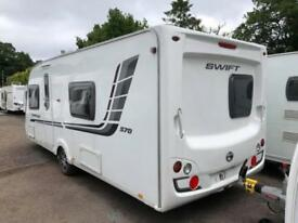 2011 Swift Challenger 570 4 Berth caravan FIXED BED, MOTOR MOVER, Bargain !!!