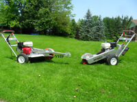 NEW Dosko stump grinders, Honda powered, FINANCE or LEASE option