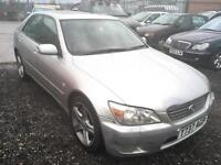 1999/T Lexus IS 200 2.0 auto SE FULL MOT EXCELLENT RUNNER