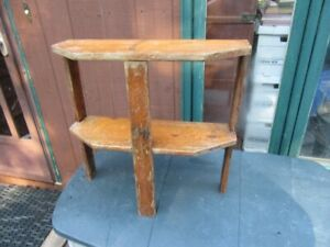 SIDE TABLE / PLANT STAND - VINTAGE