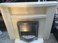 Housing units fire place/surround with fire