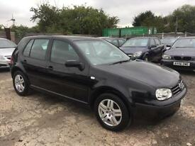 VOLKSWAGEN GOLF 2003/53 1.6 PETROL - AUTOMATIC - 1 OWNER FROM NEW - LOW MILEAGE