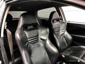 2005 55 reg Honda Civic 2.0i-VTEC ( a/c ) Type R Black + Full LEATHER +