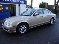 JAGUAR S-TYPE 3.0 V6 SE AUTOMATIC PETROL SALOON ** 2004 ** S TYPE