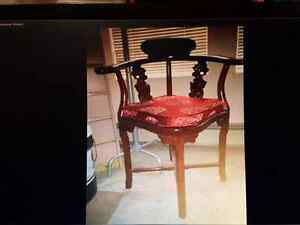 New Rosewood chair