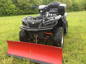 2012 SUZUKI 750 KING QUAD WITH PLOW AND MORE (FINANCING)