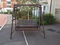 Solid Wooden Garden Swing Seat / Hammock