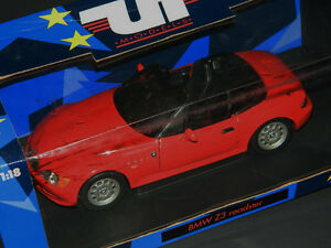 UT 1/18 Scale BMW Z3 Roadster Diecast Car Red