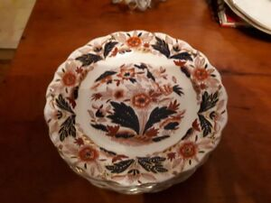 Booths China - Dovedale a8044 Imari - 6 3/4inch plate $5 each