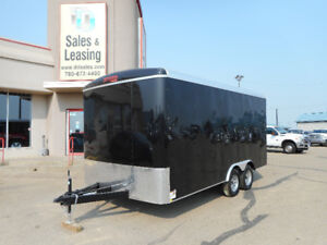 2018 TNT 8.5x16 Enclosed Trailer/Extended Height/Ramp $8999