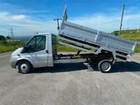 2008 Ford Transit 2.4 TDCi T350 LWB TIPPER 140ps NO VAT Dropside Tipper Diesel M