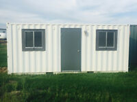 SITE OFFICE, MODULAR WORKSPACE, or HUNTING SHACK! AVAILABLE NOW!