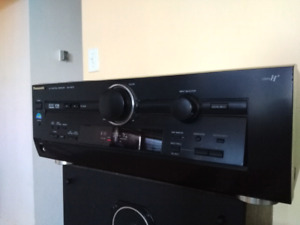 Panasonic receiver amplifier