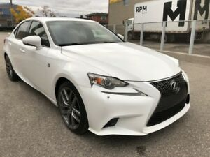 2014 Lexus IS 250 F-SPORT I AWD I NAVIGATION I BACK-UP CAMERA