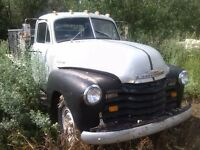 1952 Chev one ton with hoist
