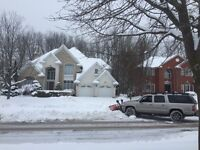 London Snow Removal~Driveways Snow Plowed from $40.00