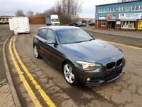 "BMW 1 SERIES 2.0 116d M Sport 5 DOOR SPORTS HATCH 2013 ""63"" REG 54,000 MILES FSH"