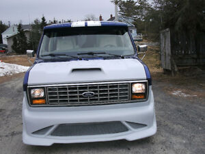 ONE OF A KIND 1977 FORD VAN E-100