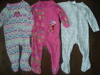 12-18 month girl pajamas