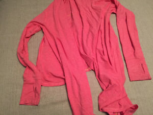 Pink ivivva wrap size 12