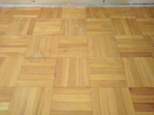 1970s Parquet Flooring - Trade or Best Offer