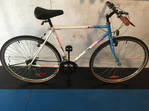 velo ville hybride RALEIGH POINEER urbain city vintage bike