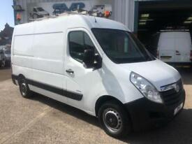 2011 61 VAUXHALL MOVANO 2.3 F3500 MWB MEDIUM ROOF FULLY FITTED WORKSHOP VAN DIES
