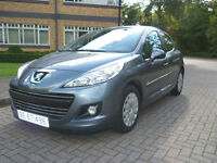 SOLD NOW 2010 Peugeot 207 1.6 HDI Left hand drive Lhd Swiss Registered