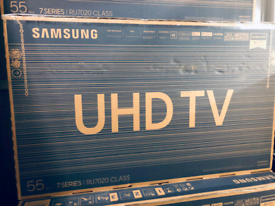 Brand new sealed 55 inch smart 4k ultra hdr Samsung full warranty