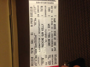 2 mgk tickets for march 4th 2017 show