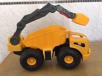 Little Tikes Monster Dirt Digger large Dumper Tipper truck & Grab Crane