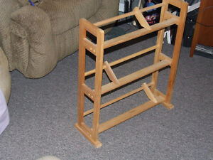 Wooden CD/DVD Rack - $15.00