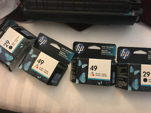 HP ink cartridge #29 #49 sealed $20 for both