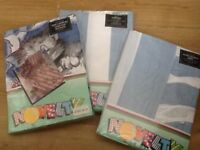 Full Bedding Set, includes Curtains.... Brand New in Packets...
