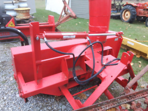Snowblowers and tractor blades