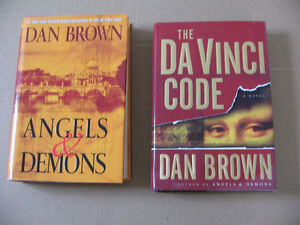 DAN BROWN ANGELS & DEMONS,THE DE VINCI CODE