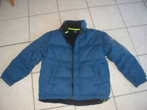 Gap kids XXL coat - Down filled, fleece lining, warm -used $15