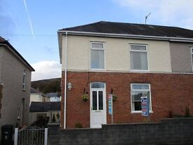 2br part furnished semi.det for short term rent in Abercrave (Swansea Valley) 3 month let