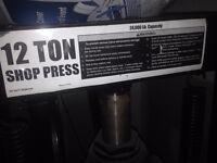12 ton shop press