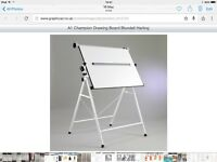 Desk/ A1 Champion Drawing board by BLUNDELL HARLING.