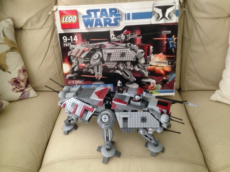 Lego Star Wars At Te Walker With Box And Instructions In Warwick
