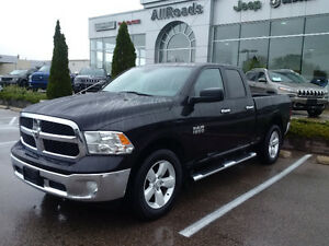 2014 Ram 1500 Slt quad cab 4x4 with 20's London Ontario image 1